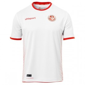 Maillot officiel Tunisie Domicile 2018/2019 - Uhlsport 1003351011956