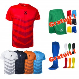 Maillot Star + Short One et Chaussettes offertes - Ixome F_X2204+X4125+X4001