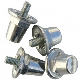 Crampons Cylindriques (Blister de 12 crampons alu / 16 mm) - Sporti 063281
