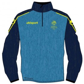 Sweat 1/4 zip Ligue 1 - Uhlsport 100349601