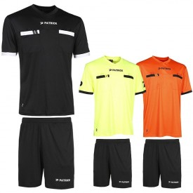 Ensemble d'arbitre maillot et short Referee - Patrick REF101+REF201