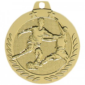 Médaille Football Or 40 mm France Sport