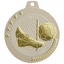 Médaille Football 50 mm Or France Sport