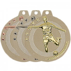 Médaille Football 50 mm France Sport
